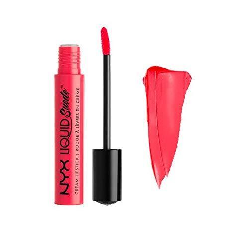 (ORIGINAL 100%) NYX Professional Makeup Liquid Suede Cream Lipstick LSCL 02 Life's A Beach