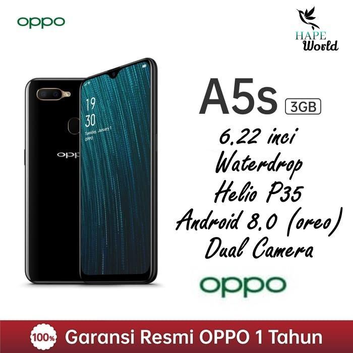Oppo A5S - (3/32GB) - Garansi Resmi