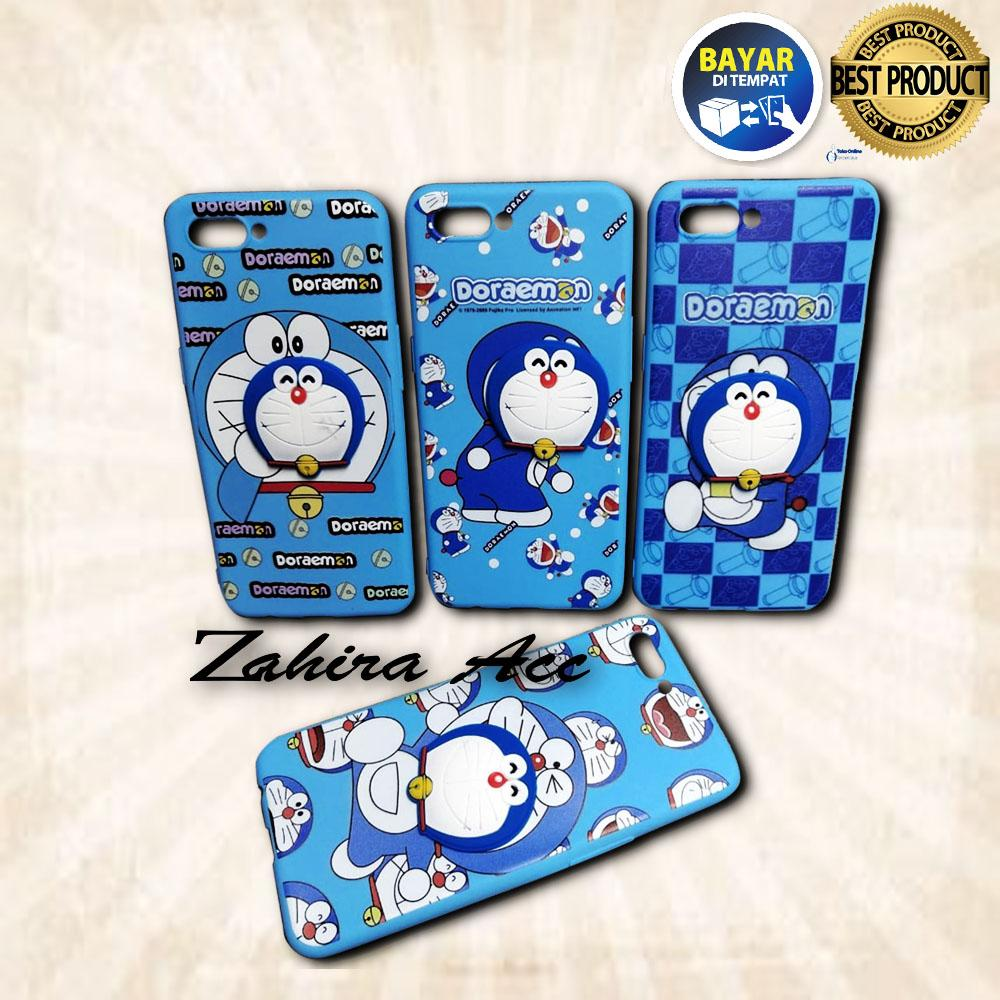 Case / Softcase / Casing Handpone / Casing HP Karakter DORAEMON For Oppo A3s / A5