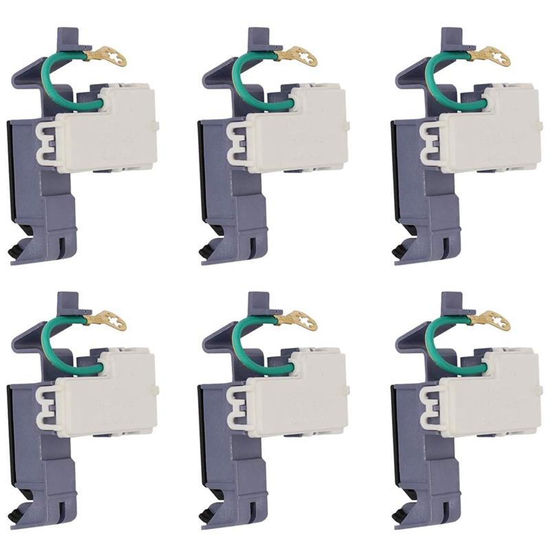 6PCS Washing Machine Cover Switch 8318084 for Whirlpool Kenmore Roper WP8318084 ER8318084