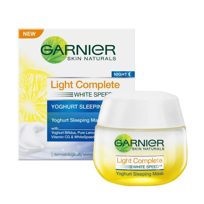 Garnier Light Complete Night Yoghurt Sleeping Mask 50 ml