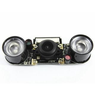 Smart Raspberry Pi Infrared Night Camera Module 5 Mp Wide Angle 130 Degree Fisheye Camera With Infrared Ir Sensor Led Light thumbnail