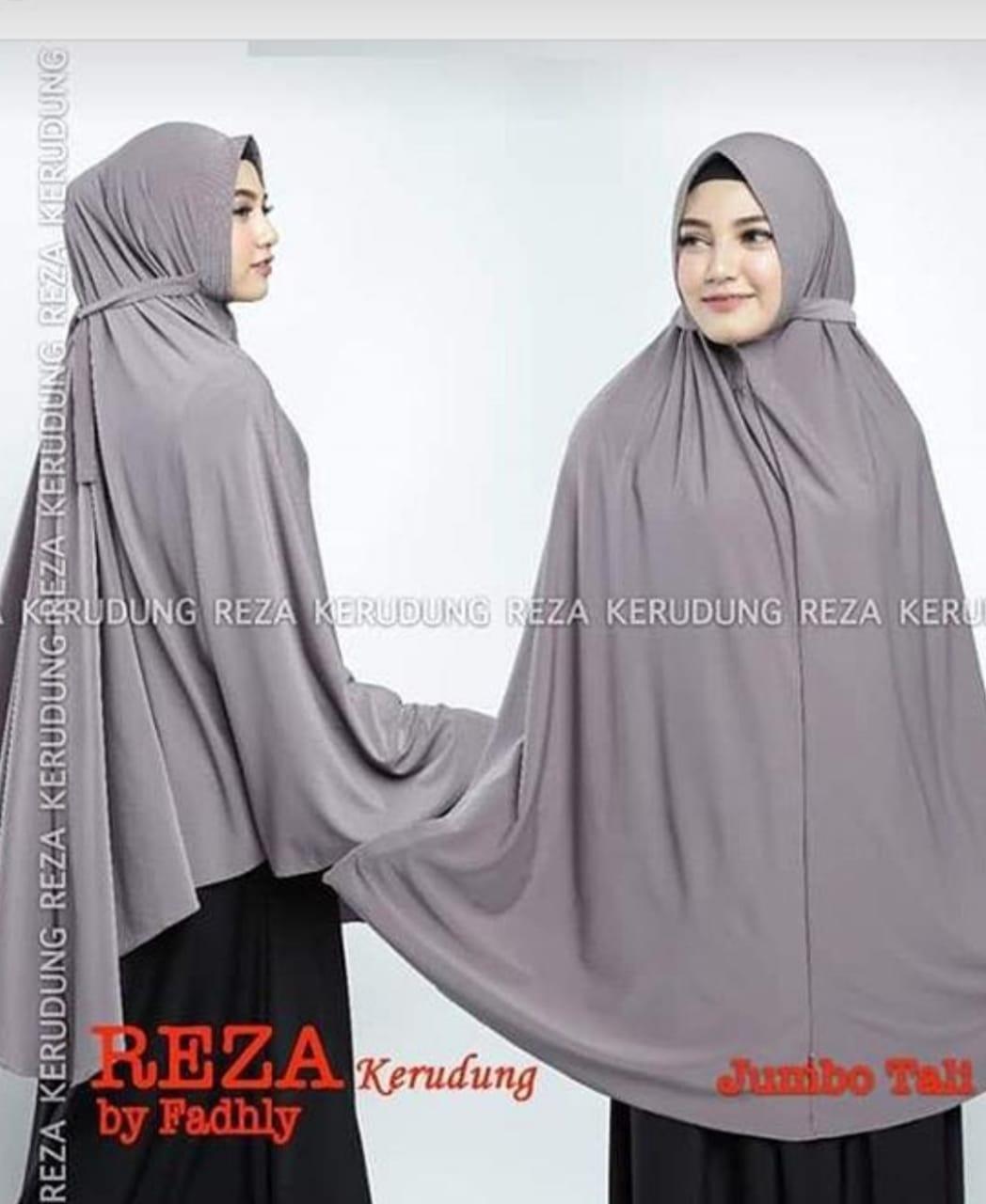 Salmi Scraf - Hijab Syar'i Jersy Reza Tali JUMBO / Hijab Instan / Hijab Syar'i terbaru / Jilbab Syar'i / Fashion Wanita Murah / Kerudung Wanita