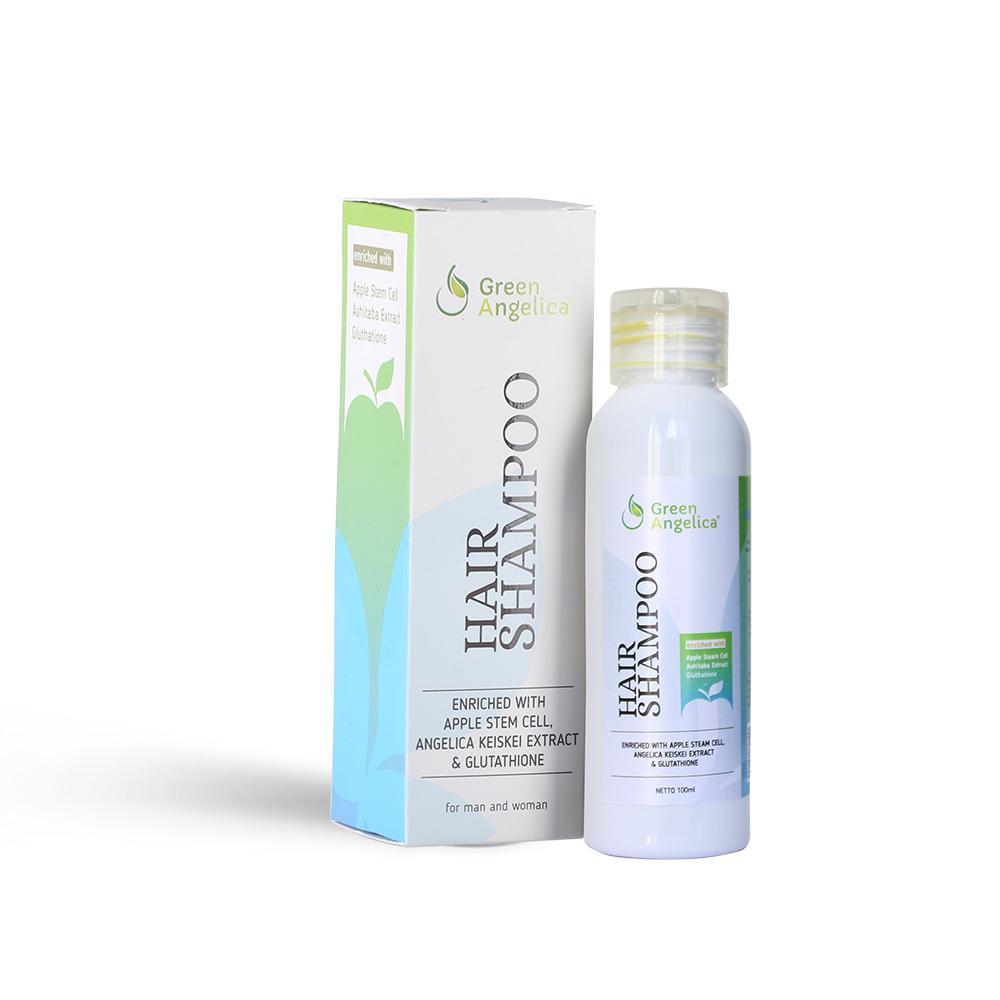 Shampo Untuk Rambut Rontok Berketombe Dan Berminyak Green Angelica Hair Shampo Shampo Rambut Cepat Panjang 100% Original Product Dan Halal By Green Angelica.