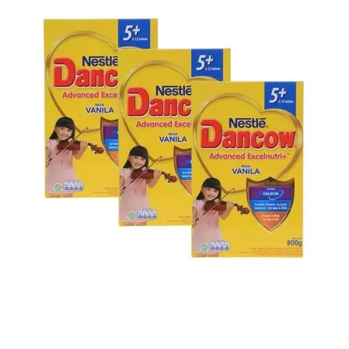 Dancow 5+ Vanila 800g By Babycenter.