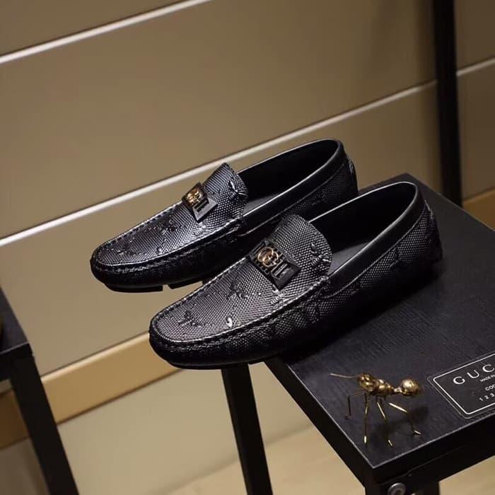 ba57700c73d Terfavorit sepatu loafer gucci mirror quality po Terlaris