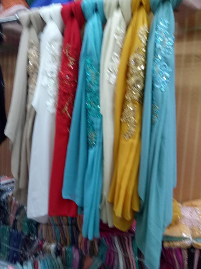 jilbab instan pesta / DZA Laris Fashion