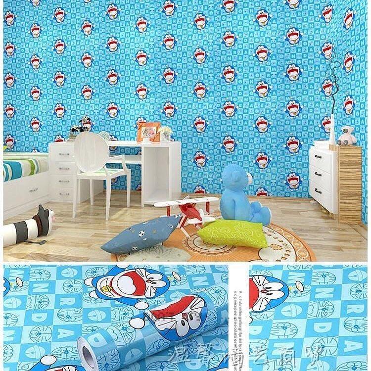 Wallpaper Dinding Kamar Tidur Sticker Walpaper Stiker Dekorasi Rumah Walpeper Setiker Ruang Tamu Motif Doraemon Wps Dorasquare Lazada Indonesia