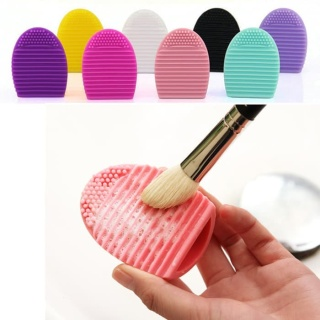 [PROMO SPESIAL] Makeup Brush Egg Pad Pembersih Kuas Makeup Brush Cleaner 50gr HIGH QUALITY PREMIUM IMPOR TERMURAH thumbnail