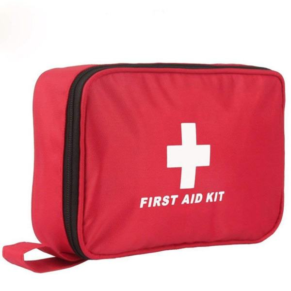 First Aid Kit, 180 PCS Emergency First Aid Kit Supplies Trauma Bag Safety First Aid Kit for Sports/Home/Hiking/Camping/Travel/Car