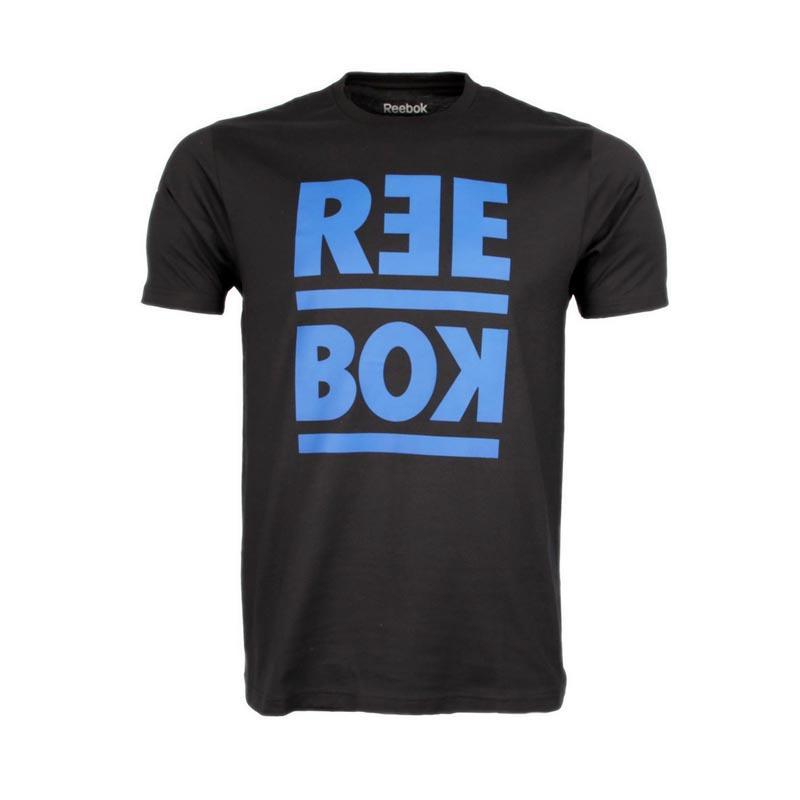 577050b8bb6 Reebok - RM Basic Graphic T-Shirt Pria - Hitam
