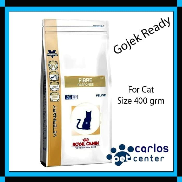 Royal Canin VET Fibre Response Cat 400 grm - ready stock