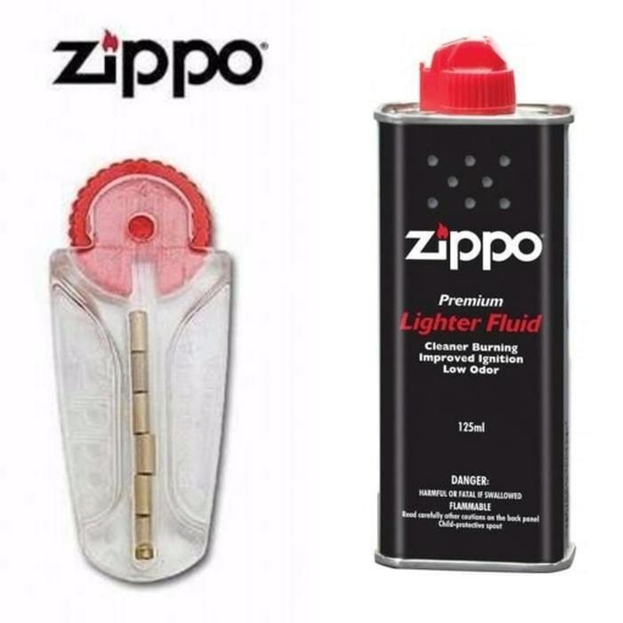 PROMO TERMURAH MINYAK ZIPPO + BATU ZIPPO