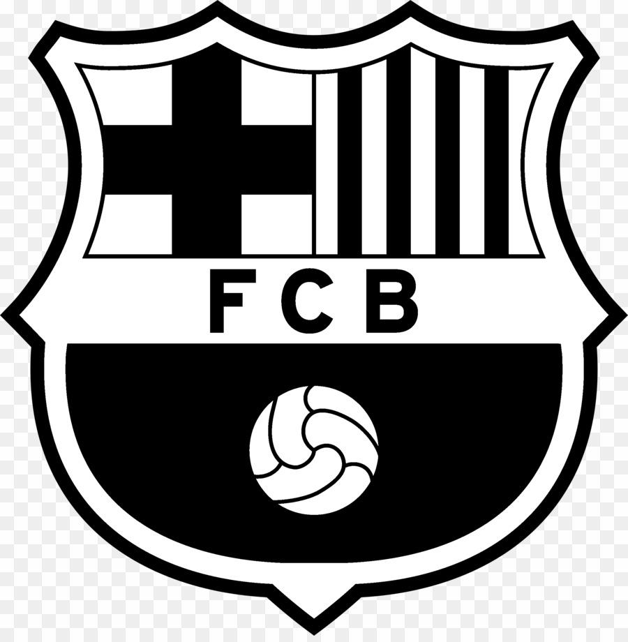 Logo Barcelona Hitam Putih / Logo Fc Barcelona Hitam Putih ...