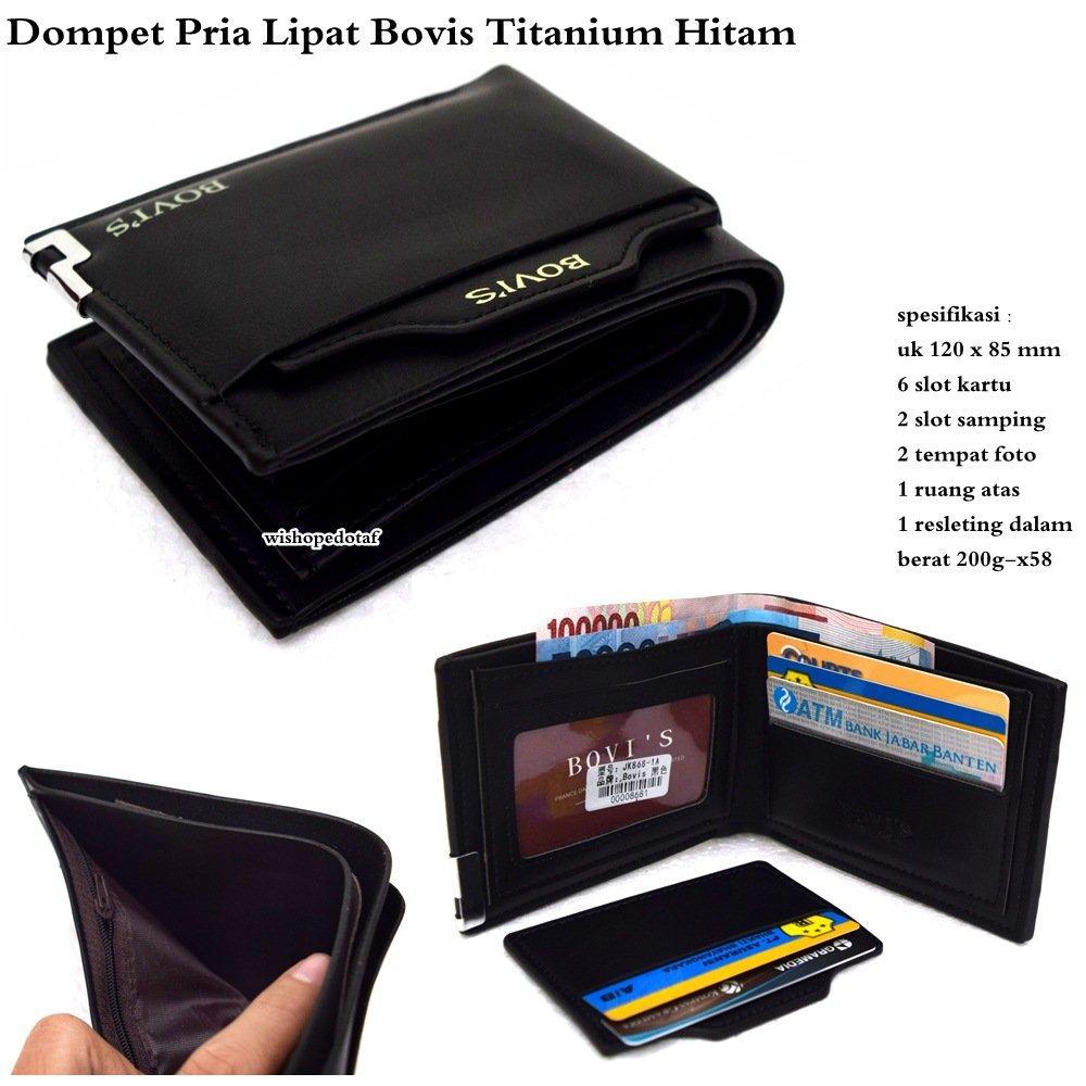 Dompet Pria Bovis   Co PU-premium J09   Dompet Kulit   Dompet Murah   51cd6e94f0