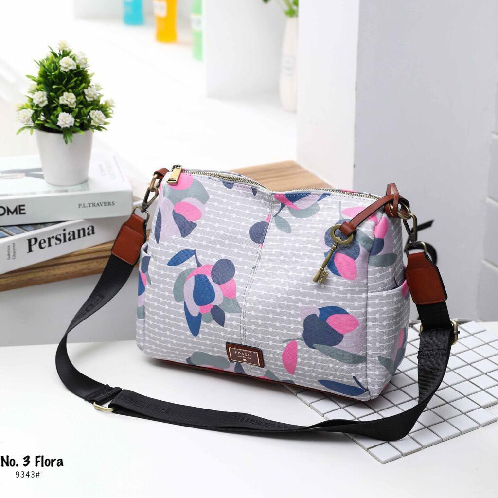 tas wanita fossil satchel selempang branded import casual simple slingbag  keren kekinian tas kerja jalan santai 3ff4b1167e
