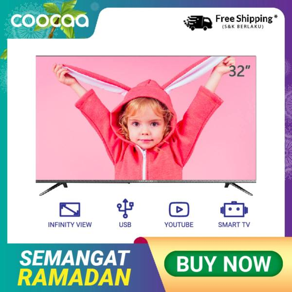 COOCAA 32 inch OS Coocaa Lite Smart LED TV -Infinity View- HD Panel- Slim- Wifi (Model 32S3C)