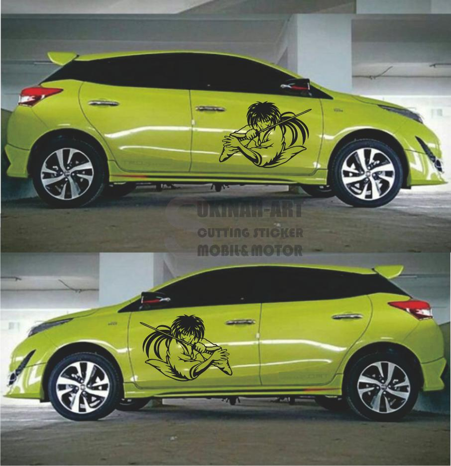 Cutting Sticker Mobil Animasi Cartun Lazada Indonesia