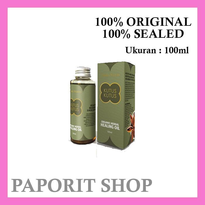 Minyak Kutus Kutus Bali Original 100ml essential oil untuk perlengkapan kesehatan bayi dan anak obat batuk flu