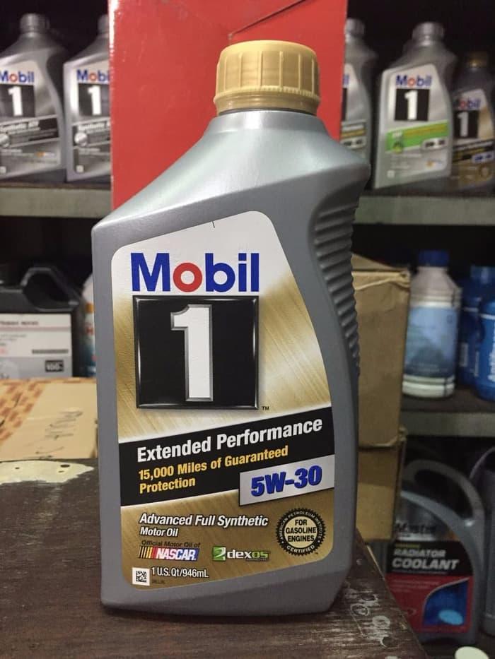 EXCLUSIVE Oli Mobil 1 SAE 5W 30 Extended Performance literan ORIGINAL