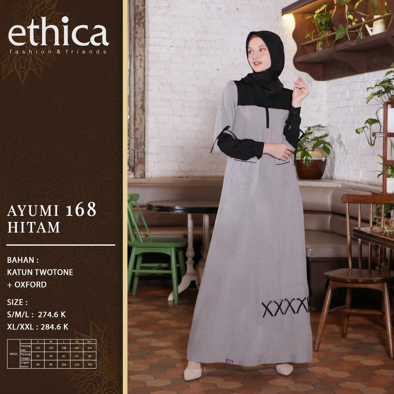 Gamis Ethica Ayumi 168 Membeli Jualan Online Baju Muslim Jumpsuit Dengan Harga Murah Lazada Indonesia