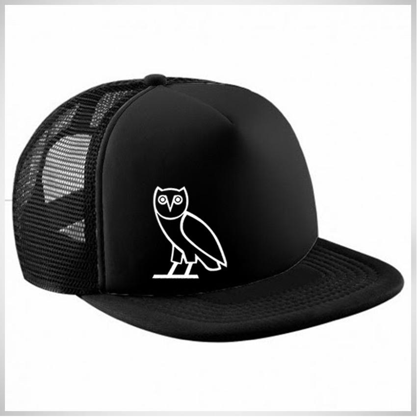 Topi Snapback Jaring Ovo Drake Premium