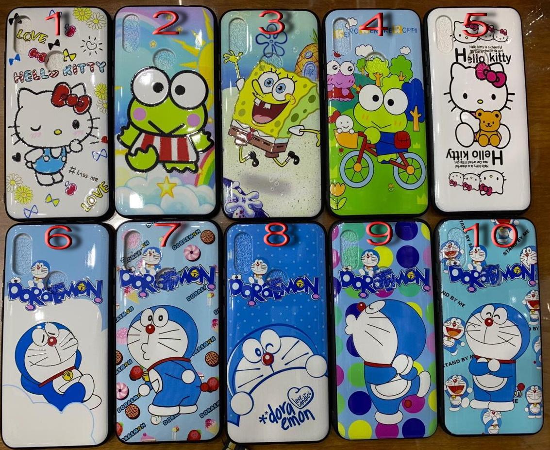 Case Fuze Doraemon & Friends Iphone ( 6, 7, Plus ) XR, XS Max, Vivo Y17, V15, Pro, Y91, Y93, Y81, Samsung A10, A20, A30, A50, A70, M10, M20, M30, J4 & J6 Plus, J2 Prime ,J5, A2 Core, A7 2018