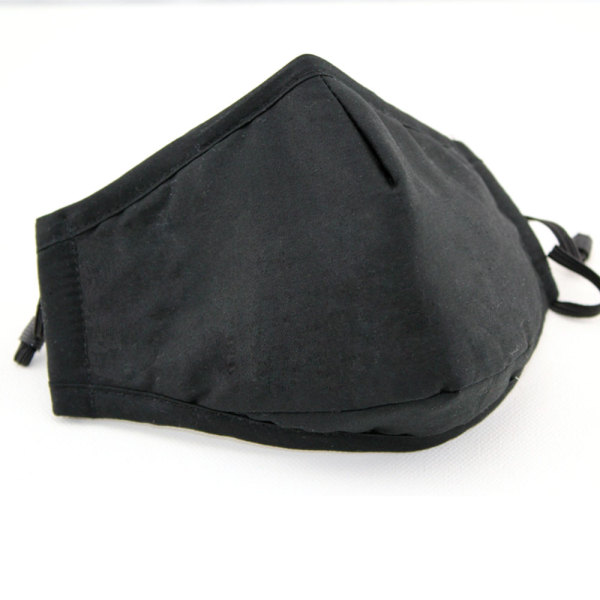 [Homesty] PM2.5 anti-fog and dustproof adult cotton black men and women warm autumn and winter masks with interlayer