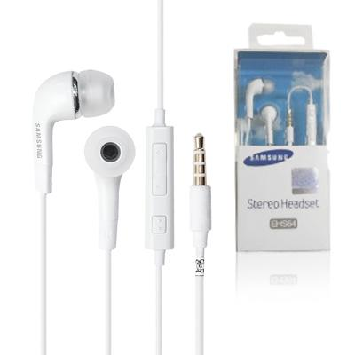 HEADSET SAMSUNG EHS64 WIRED HEADSET WITH MIC HANDSFREE SAMSUNG 100% EHS64 EARPHONE ORIGINAL SUPERBASS