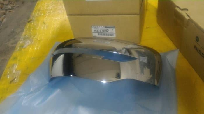 nissan np300 navara new cover spion chrome sen / tanpa