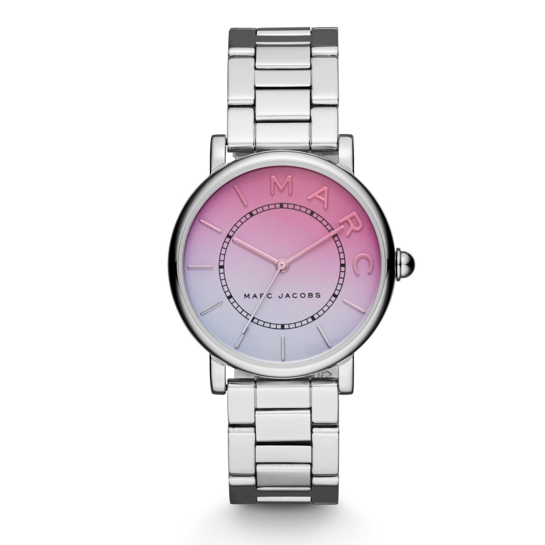 Marc By Marc Jacob Roxy Extensions - Silver - Jam Tangan Analog Wanita - MJ3552 - Original dan Garansi Watch Care