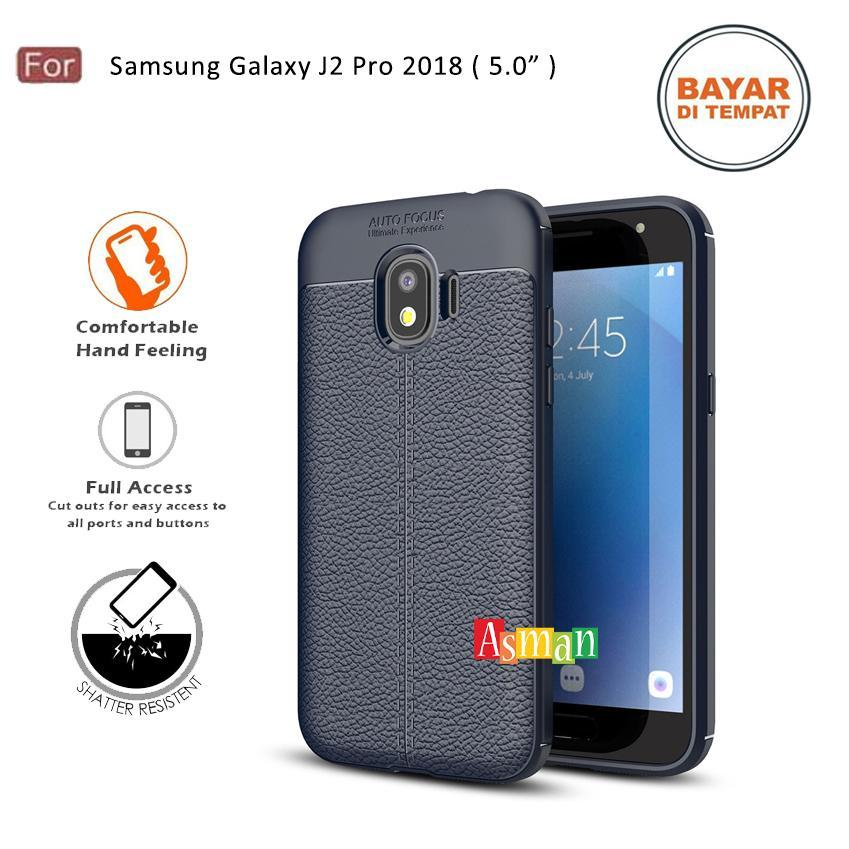"""Softcase Leather Case Auto Focus Case Ultimate Softcase Ultraslim for Samsung Galaxy J2 Pro 2018 ( 5.0"""" ) Grade Protection   Lazada Indonesia"""