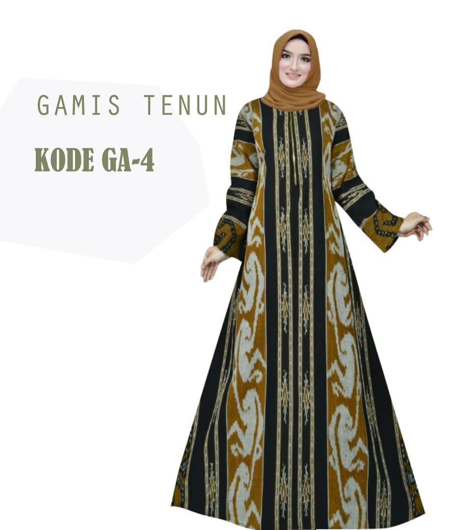 Gamis Tenun Troso Gamis Lebaran By Queen Ethnic Kualitas Premium Lazada Indonesia