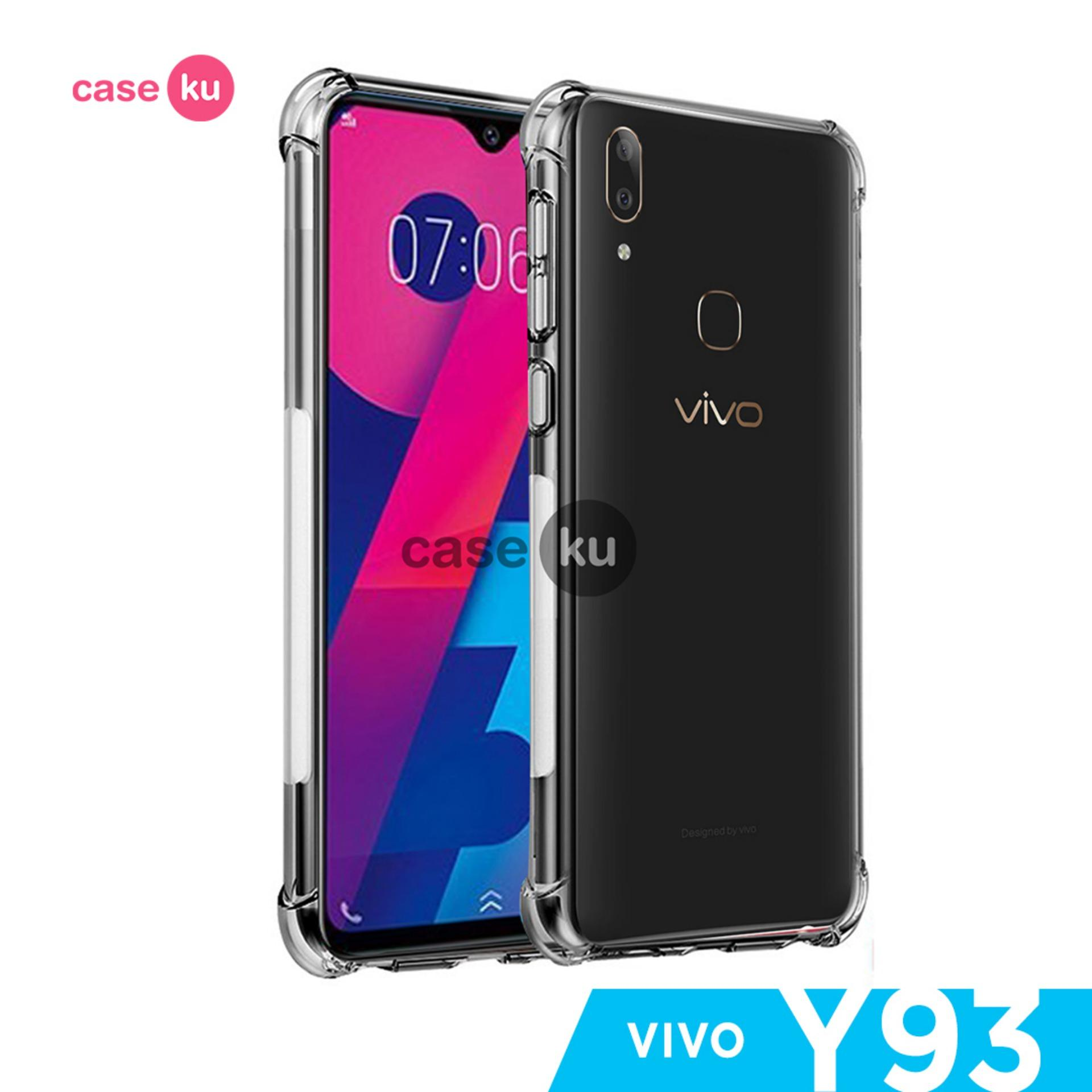 Caseku Vivo Y91,Y93,Y95 Anti Crack Ultra Thin Anti Shock Jelly Silikon Shockproof Softcase - Bening