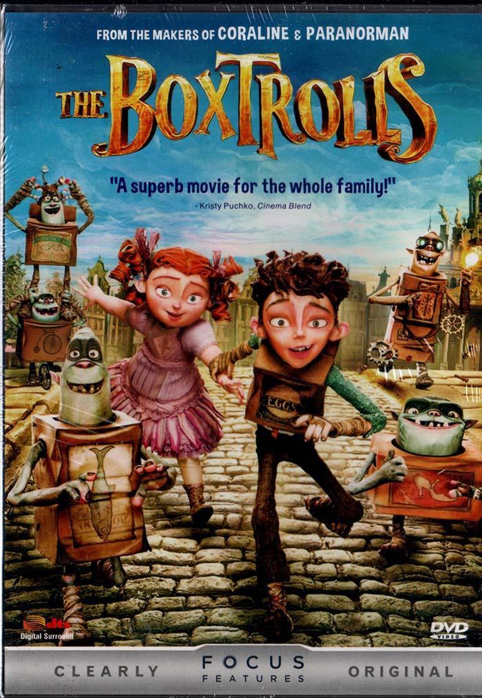 Dvd - Boxtrolls By Womdisc.