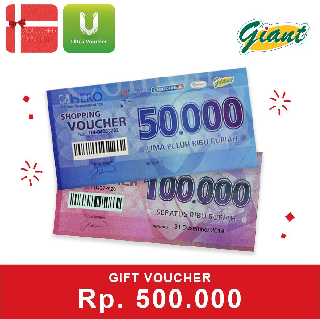 Giant Voucher 500.000 By Voucher Center.
