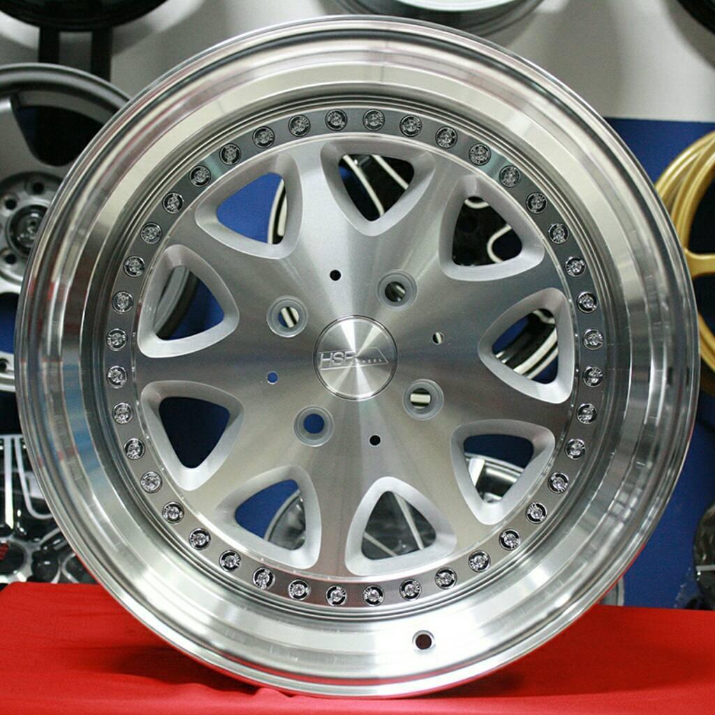 Velg Mobil Murah HSR BAVARIA R16 Racing Honda Brio Jazz City Yaris Sirion