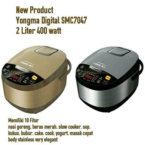 Yong Ma SMC 7047 Rice Cooker Digital