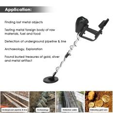 LAGOBUY Máy dò kim loại dưới lòng đất MD-4030 chuyên nghiệp máy dò vàng tìm kho báu có thể điều chỉnh kích thước: 550*230*120 (mm) – INTL