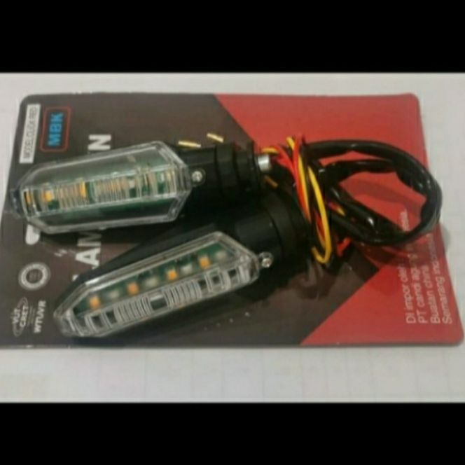 Lampu Sen Vario New ADV CB150R CBR150R LED Running 2 in 1 Senja