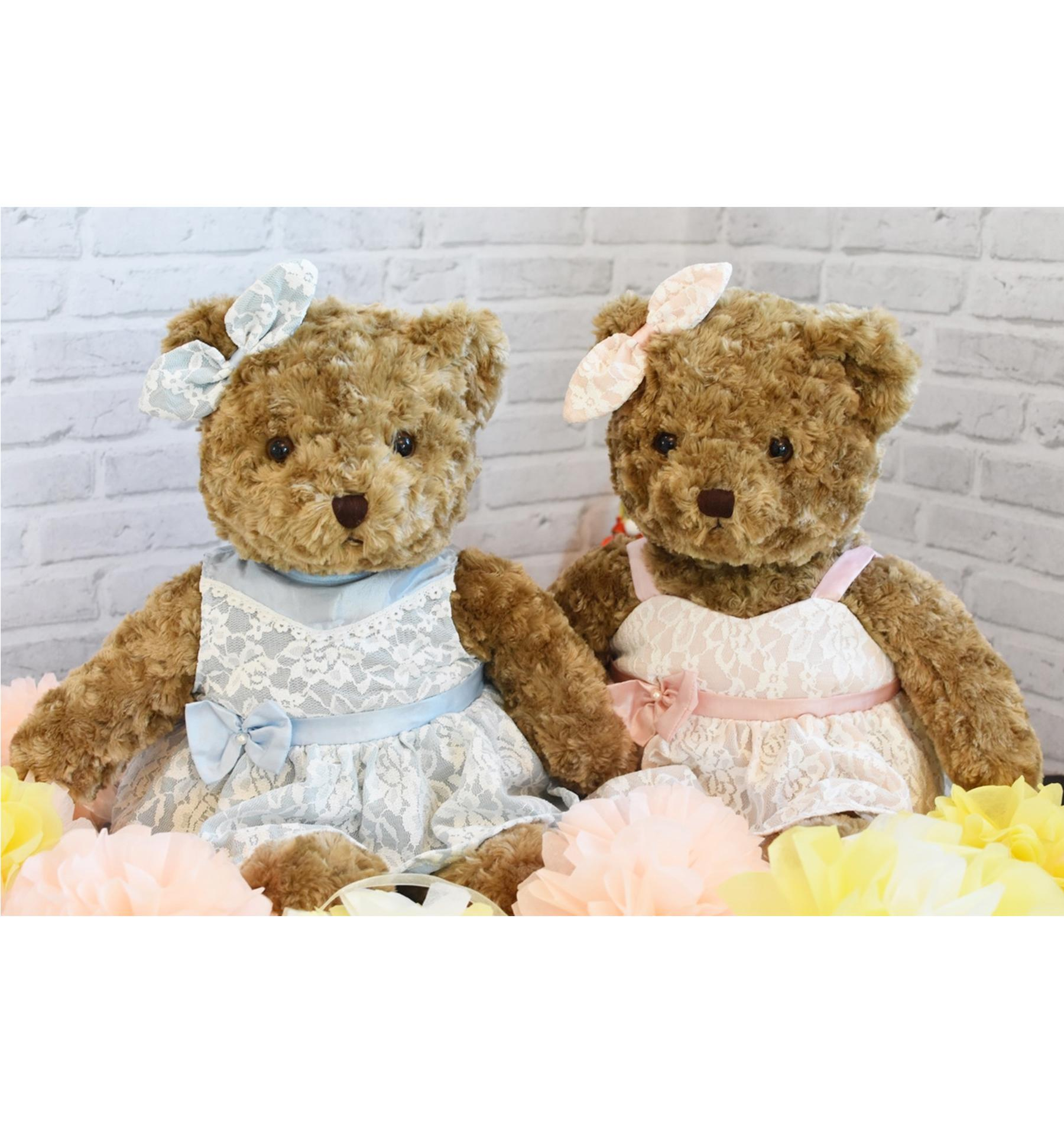KADO TEDDY BEAR TOBY LOVELY 22 INCHI