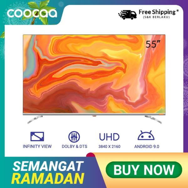 COOCAA 55 inch OS Coocaa Lite Smart LED TV - Andoid 9.1(Model 55S6G)