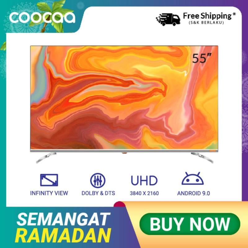 COOCAA 55 inch OS Coocaa Lite Smart LED TV - Andoid 9.1(Model 55S6G)