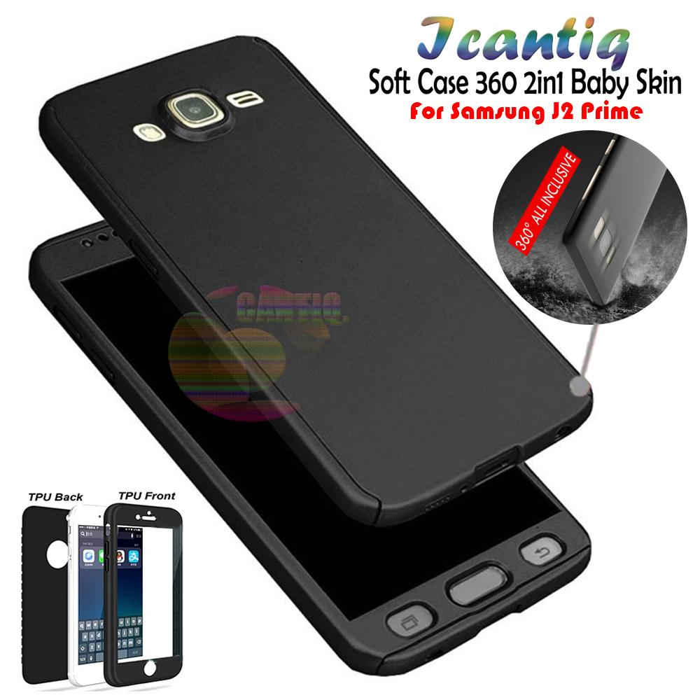 Rp 24.900. Icantiq Case Samsung Galaxy J2 Prime Premium Front Back 360 Degree Full Protection Softcase ...