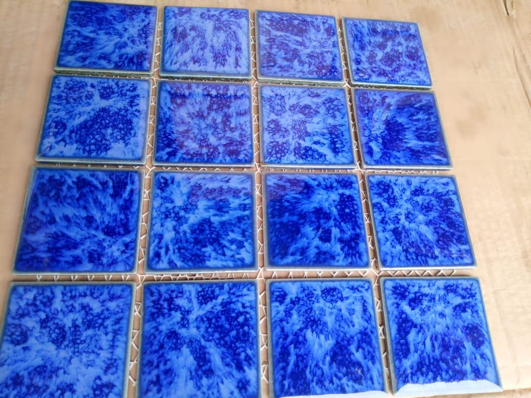 Konstruksi Kolam Renang Dan Material Mosaic By Hfc Seller.