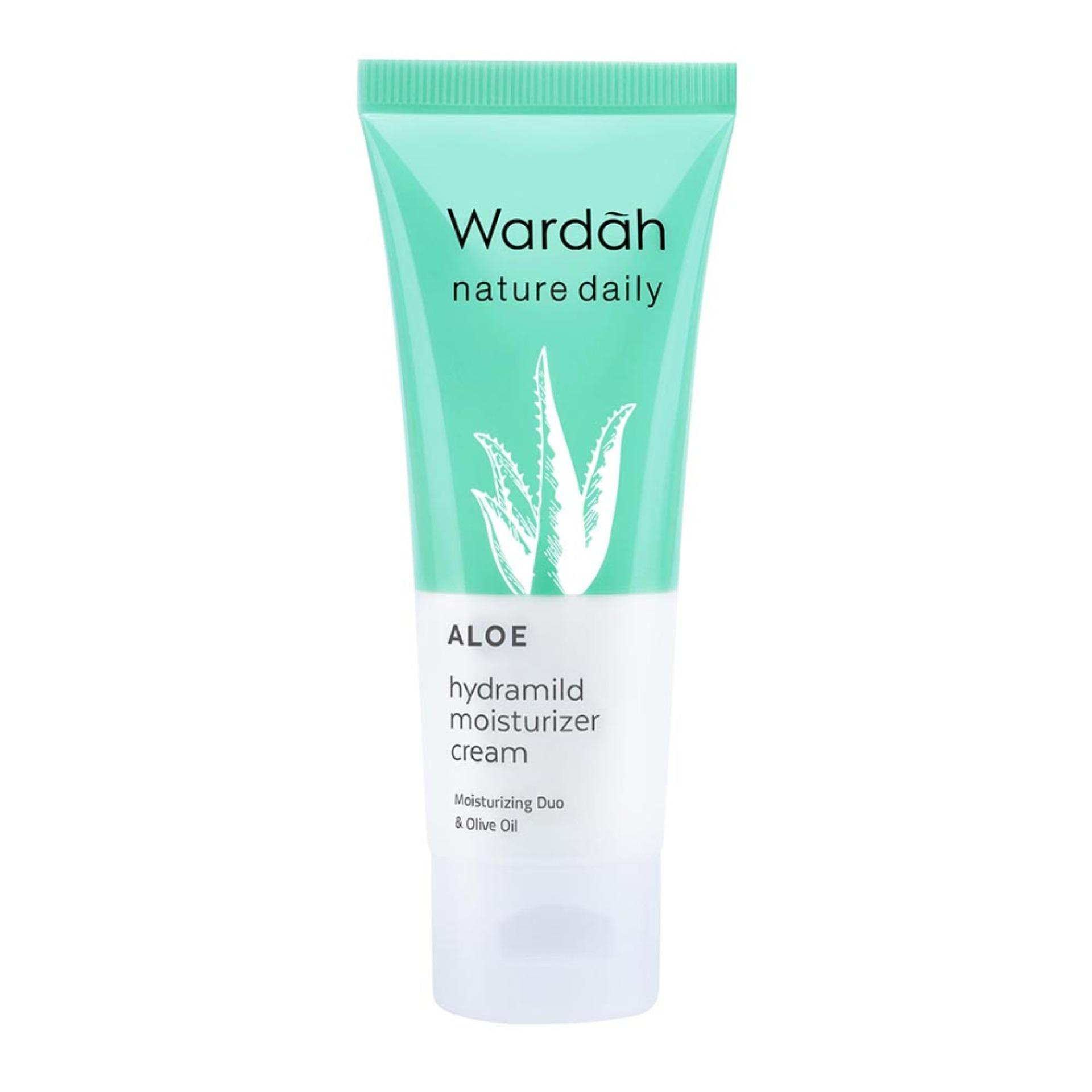 Wardah Aloe Hydramild Moisturizer Cream - 40 Ml By Alisha Shop.