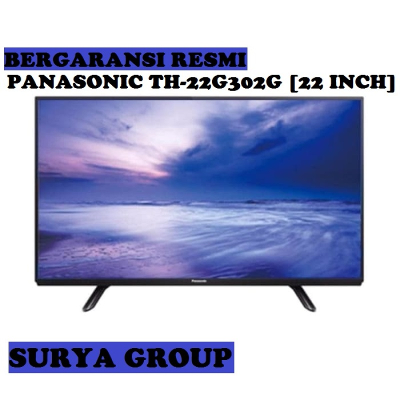 LED TV PANASONIC TH22G302G [22 Inch] - USB Movie, HDMI & VGA - Garansi Resmi, Original, Terjamin