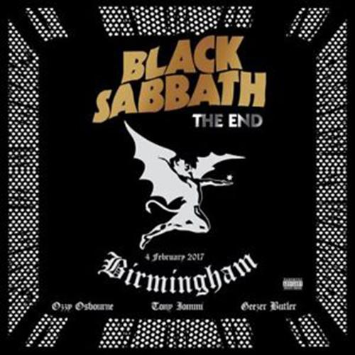 Cd Black Sabbath - The End (4 February 2017 - Birmingham)(2cd) By Womdisc.
