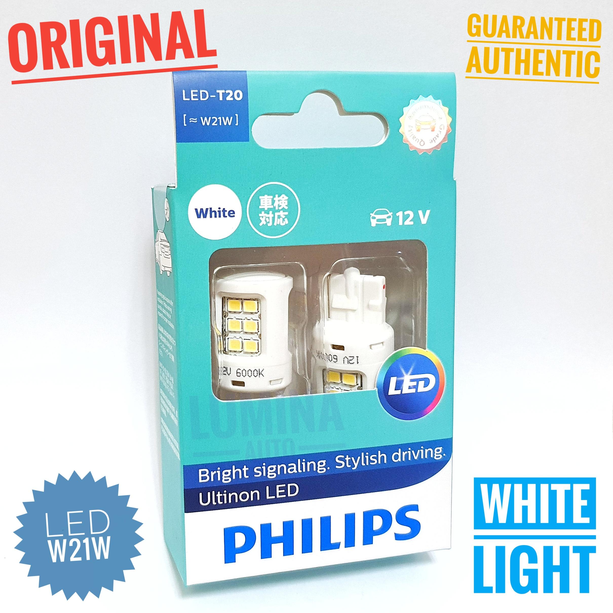 Philips LED T20 W21W Putih White - Lampu Senja Innova Reborn