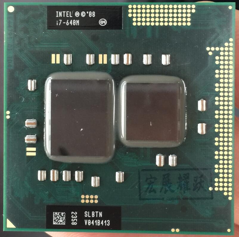 Intel Core I7-640M Processor i7 640M notebook Laptop CPU PGA 988 cpu YFD1 Store